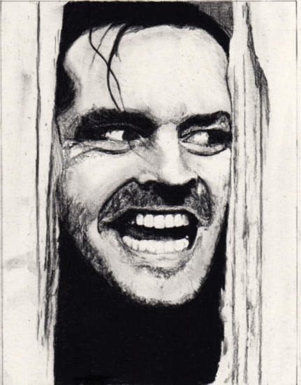 Jack Nicholson por Karen